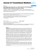 """báo cáo hóa học:"""" Identifying alemtuzumab as an anti-myeloid cell antiangiogenic therapy for the treatment of ovarian cancer"""""""