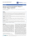 "Báo cáo hóa học: "" Immune and hemorheological changes in Chronic Fatigue Syndrome"""