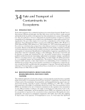 ECOTOXICOLOGY: A Comprehensive Treatment - Chapter 34