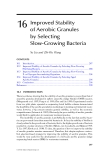 Wastewater Purification: Aerobic Granulation in Sequencing Batch Reactors - Chapter 16