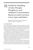 WETLAND AND WATER RESOURCE MODELING AND ASSESSMENT: A Watershed Perspective - Chapter 12