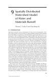 WETLAND AND WATER RESOURCE MODELING AND ASSESSMENT: A Watershed Perspective - Chapter 9