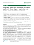 "báo cáo sinh học:""  Profile and professional expectations of medical students in Mozambique: a longitudinal study"""