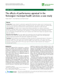 "báo cáo sinh học:""  The effects of performance appraisal in the Norwegian municipal health services: a case study"""