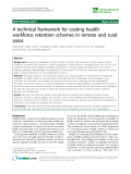 "báo cáo sinh học:"" A technical framework for costing health workforce retention schemes in remote and rural areas"""