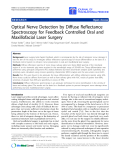 "Báo cáo sinh học: "" Optical Nerve Detection by Diffuse Reflectance Spectroscopy for Feedback Controlled Oral and Maxillofacial Laser Surgery"""