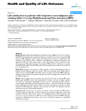 """báo cáo hóa học: """"   Life satisfaction in patients with long-term non-malignant pain – relating LiSat-11 to the Multidimensional Pain Inventory (MPI)"""""""