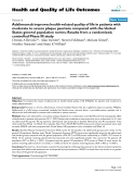 """báo cáo hóa học: """"   Adalimumab improves health-related quality of life in patients with moderate to severe plaque psoriasis compared with the United States general population norms: Results from a randomized, controlled Phase III study"""""""