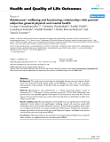 """báo cáo hóa học: """"  Adolescents' wellbeing and functioning: relationships with parents' subjective general physical and mental health"""""""