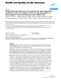 "báo cáo hóa học: ""  Multinational development of a questionnaire assessing patient satisfaction with anticoagulant treatment: the 'Perception of Anticoagulant Treatment Questionnaire' (PACT-Q©)"""