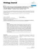 "Báo cáo sinh học: ""  Review of the temporal and geographical distribution of measles virus genotypes in the prevaccine and postvaccine eras"""