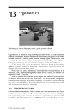 Industrial Safety and Health for Goods and Materials Services - Chapter 13