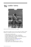 Industrial Safety and Health for Goods and Materials Services - Chapter 16