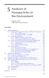 Nanotechnology and the Environment - Chapter 5
