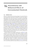 ORGANIC POLLUTANTS: An Ecotoxicological Perspective - Chapter 16