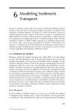 Sediment and Contaminant Transport in Surface Waters - Chapter 6