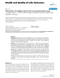 "báo cáo hóa học: "" The burden of multiple sclerosis: A community health survey"""