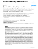 "Báo cáo hóa học: "" Beyond satisfaction: Using the Dynamics of Care assessment to better understand patients' experiences in care"""