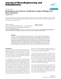 """báo cáo hóa học: """"Exoskeletons and orthoses: classification, design challenges and future directions"""""""