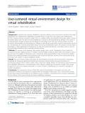 "báo cáo hóa học: ""User-centered virtual environment design for virtual rehabilitation"""