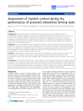 """Báo cáo hóa học: """"  Assessment of Joystick control during the performance of powered wheelchair driving tasks"""""""