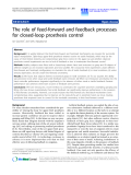 "Báo cáo hóa học: "" The role of feed-forward and feedback processes for closed-loop prosthesis control"""