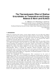 Heat Analysis and Thermodynamic Effects Part 2