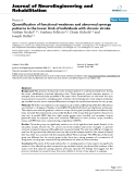 """báo cáo hóa học: """" Quantification of functional weakness and abnormal synergy patterns in the lower limb of individuals with chronic stroke"""""""