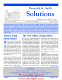 Solutions September 2007  of the State Comptroller Comptroller