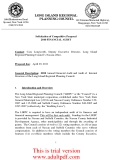 2010 Annual Financial Audit and Audit of Internal Structure of the Long Island Regional Planning Council