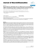"báo cáo hóa học: ""  Dexamethasone diminishes the pro-inflammatory and cytotoxic effects of amyloid β-protein in cerebrovascular smooth muscle cells"""