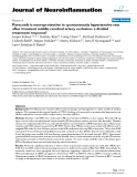 """báo cáo hóa học: """" Parecoxib is neuroprotective in spontaneously hypertensive rats after transient middle cerebral artery occlusion: a divided treatment response?"""""""