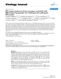 """Báo cáo hóa học: """"  SIV escape mutants in rhesus macaques vaccinated with NEF-derived lipopeptides and challenged with pathogenic SIVmac251"""""""
