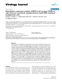 "Báo cáo hóa học: "" Quantitative expression analysis of HHV-6 cell receptor CD46 on cells of human cord blood, peripheral blood and G-CSF mobilised leukapheresis cells"""