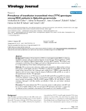 "Báo cáo hóa học: "" Prevalence of transfusion transmitted virus (TTV) genotypes among HCC patients in Qaluobia governorate"""