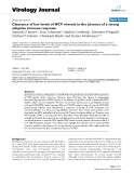 "Báo cáo hóa học: "" Clearance of low levels of HCV viremia in the absence of a strong adaptive immune response"""