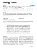 """Báo cáo hóa học: """" Closing two doors of viral entry: Intramolecular combination of a coreceptor- and fusion inhibitor of HIV-1"""""""