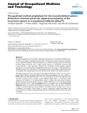 """Báo cáo hóa học: """"Occupational medical prophylaxis for the musculoskeletal system: A function-oriented system for physical examination of the locomotor system in occupational medicine (fokus(C))"""""""