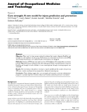 """Báo cáo hóa học: """"Core strength: A new model for injury prediction and prevention"""""""