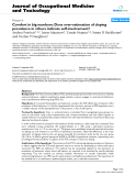 "báo cáo hóa học: ""  Comfort in big numbers: Does over-estimation of doping prevalence in others indicate self-involvement?"""