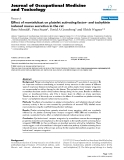 """Báo cáo hóa học: """"Effect of montelukast on platelet activating factor- and tachykinin induced mucus secretion in the rat"""""""