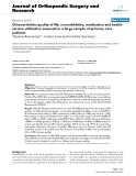 "báo cáo hóa học:""  Osteoarthritis: quality of life, comorbidities, medication and health service utilization assessed in a large sample of primary care patients"""