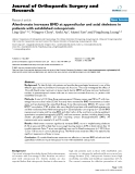 "báo cáo hóa học:""   Alendronate increases BMD at appendicular and axial skeletons in patients with established osteoporosis"""