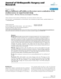 "báo cáo hóa học:""  Effect of different cuff widths on the motor nerve conduction of the median nerve: an experimental study"""