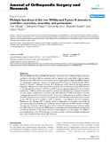 "báo cáo hóa học:""  Multiple functions of the von Willebrand Factor A domain in matrilins: secretion, assembly, and proteolysis"""