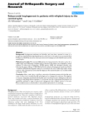 """báo cáo hóa học:""""  Subacromial impingement in patients with whiplash injury to the cervical spine"""""""