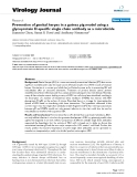 """báo cáo hóa học:""""  Prevention of genital herpes in a guinea pig model using a glycoprotein D-specific single chain antibody as a microbicide"""""""