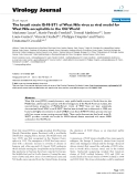 "báo cáo hóa học:""  The Israeli strain IS-98-ST1 of West Nile virus as viral model for West Nile encephalitis in the Old World"""