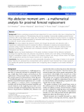 "báo cáo hóa học:""   Hip abductor moment arm - a mathematical analysis for proximal femoral replacement"""