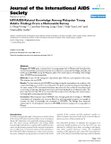 "báo cáo hóa học:""  HIV/AIDS-Related Knowledge Among Malaysian Young Adults: Findings From a Nationwide Survey"""